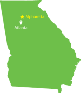 Alpharetta Map